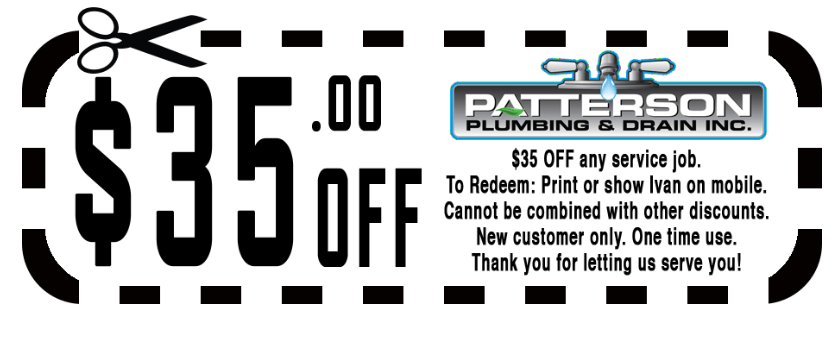 $35.00 Off any service job coupon. To redeem, print or show Ivan on mobile. Cannot be combined with other discounts. New customer only. One time use. Thank you for letting us serve you!