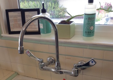 Moen Wall Mount Kitchen Faucet