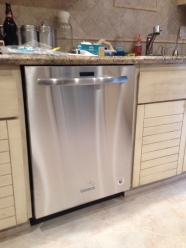 New Kitchen Aid dishwasher is super quiet!